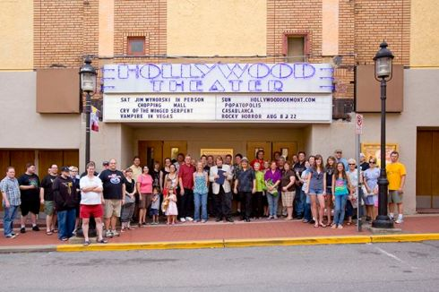 The Hollywood Theatre in Dormont, PA